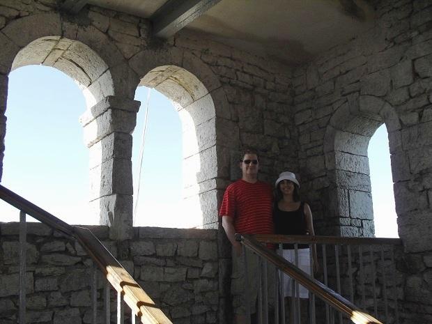 Башня на горе Ахун. Внутри
