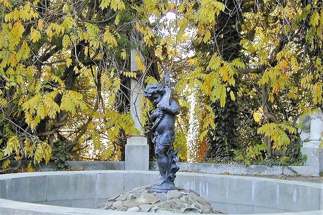Дендрарий в Сочи. Три части парка. Мальчик с рыбой