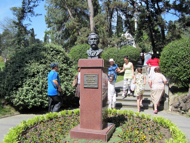 Дендрарий в Сочи. Три части парка. Памятник Худекову