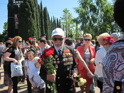 Sochi 9 Maya. Veteran