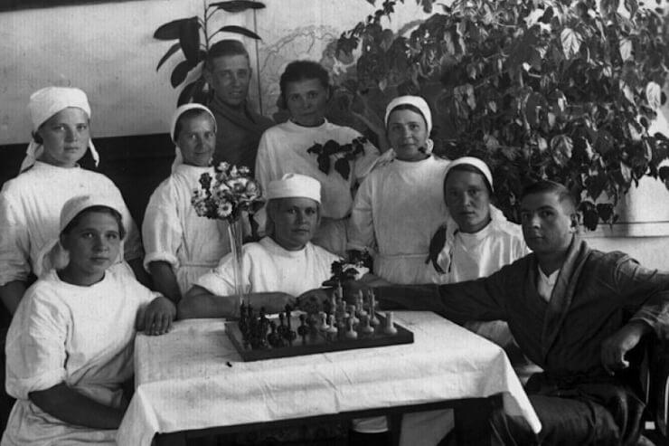 Медперсонал госпиталя в Сочи