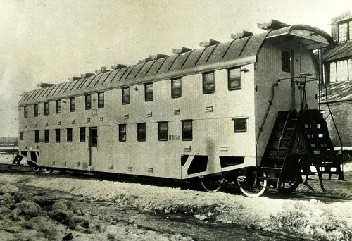 Двухэтажные вагоны. 1905 год