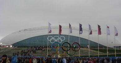 """Ледовый дворец """"Большой"""" в дни Олимпиады"""