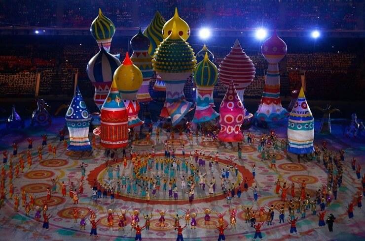 Открытие Олимпийских игр в Сочи