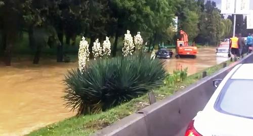 Наводнение в Сочи. Дороги 2