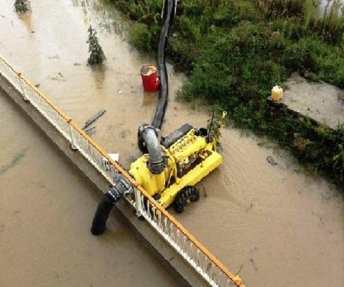 Наводнение в Сочи. Спецтехника
