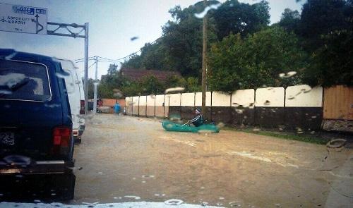 Наводнение в Сочи. Венеция по сочински