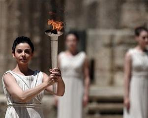 Олимпийский огонь. Олимпия