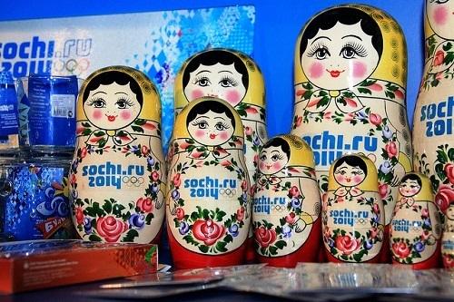 Сувениры Сочи 2014. Матрешки