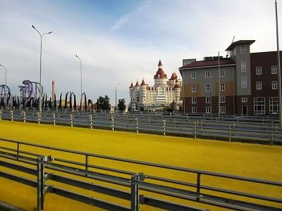 Олимпийский парк в Сочи. Парк Приключений