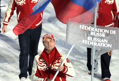Олимпийские знаменосцы. Алексей Морозов