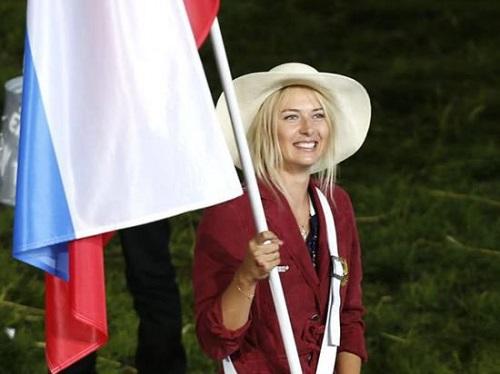 Олимпийские знаменосцы. Мария Шарапова