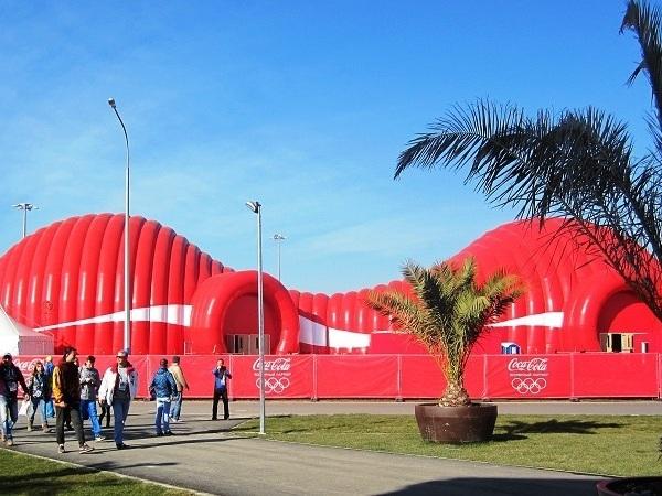 Олимпийский парк.  Coca-Cola