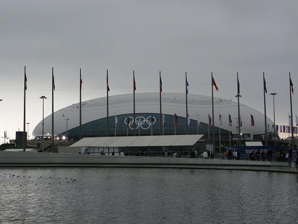 Олимпийский парк. Ледовый дворец Большой