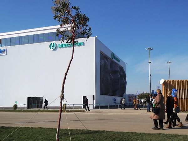 Олимпийский парк. Мегафон. MegaFaces