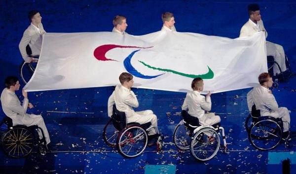 Паралимпийские игры. Паралимпийский флаг