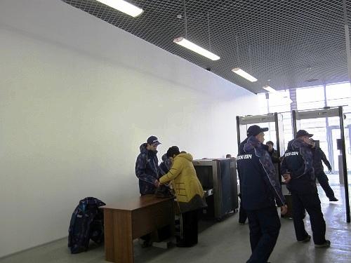 Репетиция церемонии открытия Олимпийских игр. Досмотр на вокзале