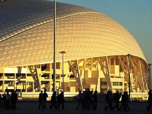 Репетиция церемонии открытия Олимпийских игр. Фишт