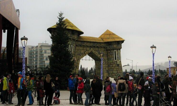 Сочи Парк во время проведения Олимпийских игр