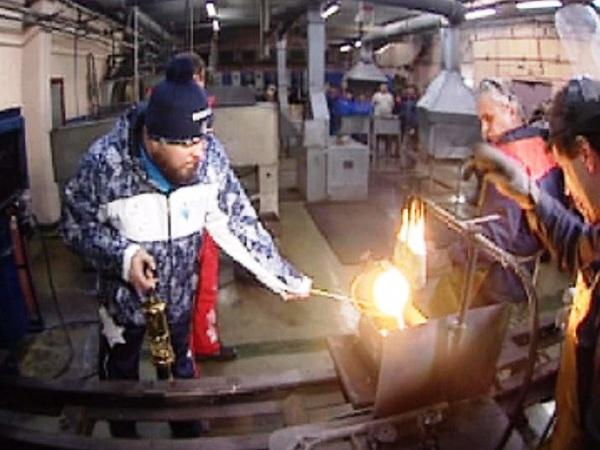 Эстафета Паралимпийского огня. Магадан