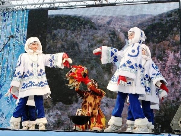 Эстафета Паралимпийского огня. Новосибирск