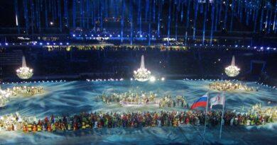 Открытие паралимпийских игр в Сочи