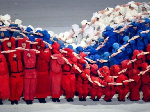 Церемония открытия Паралимпийских игр. Балет Тодес