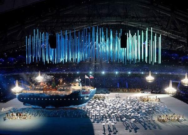 Церемония открытия Паралимпийских игр. Ледокол