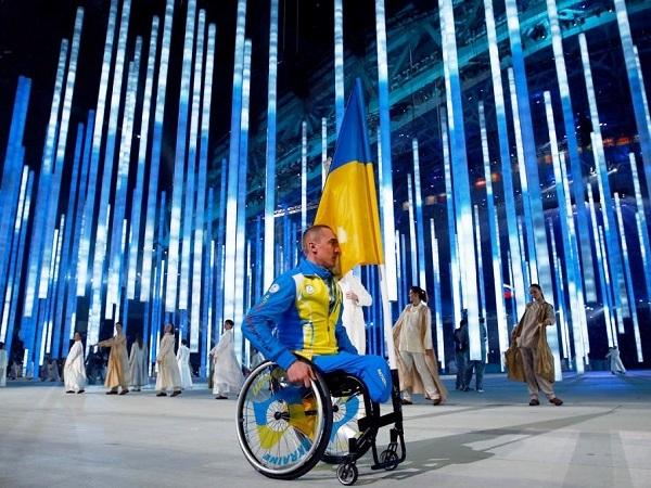 Церемония открытия Паралимпийских игр. Сборная Украины