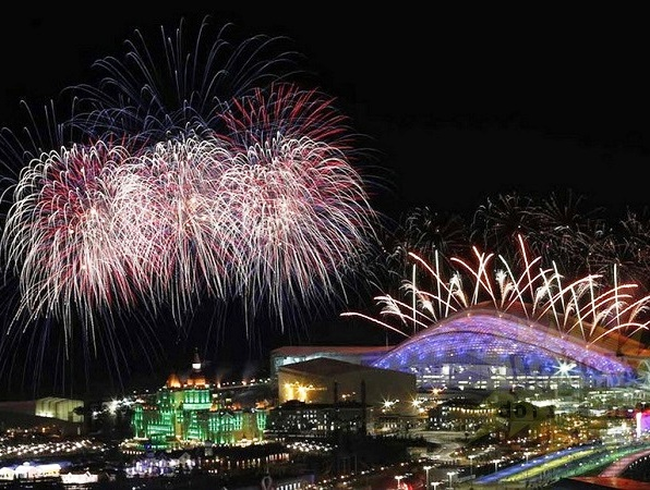 Церемония открытия Паралимпийских игр. Стадион Фишт