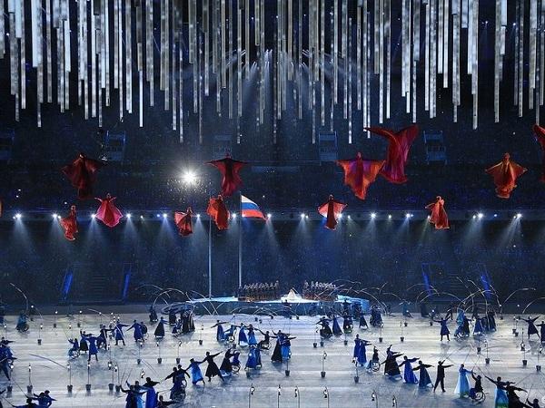 Церемония открытия Паралимпийских игр. Танец рыбаков