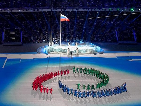 Церемония открытия Паралимпийских игр. Тодес