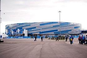 Олимпийский парк после Игр. Шайба