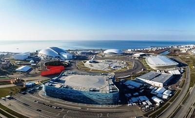 Олимпийский парк после Игр. Сверху