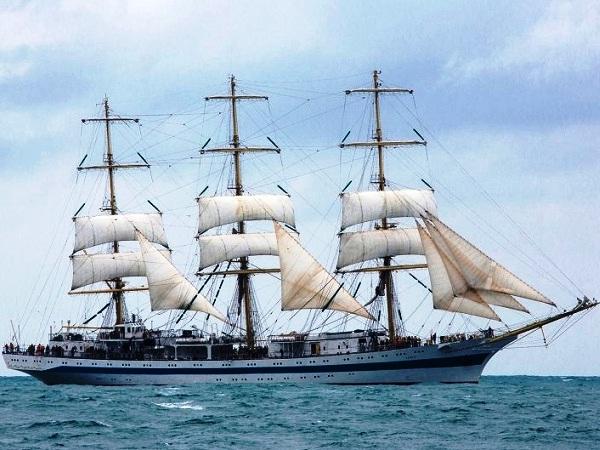 СКФ Черноморская регата больших парусников-2014. Мир