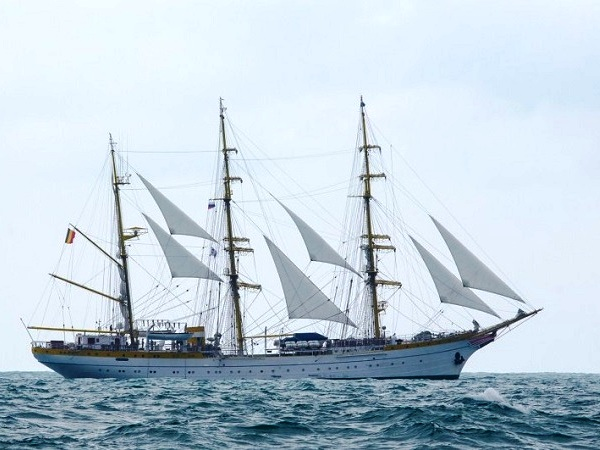 СКФ Черноморская регата больших парусников-2014. Mircea