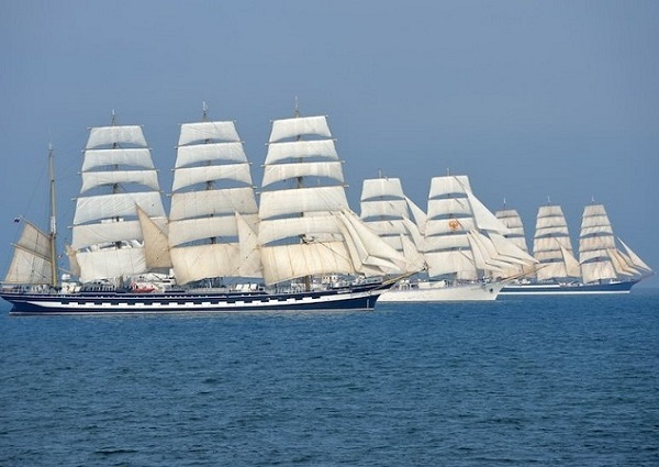 СКФ Черноморская регата больших парусников-2014. Поднять паруса