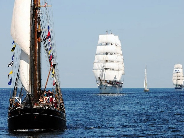 СКФ Черноморская регата больших парусников-2014.  Яхты