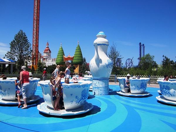 Олимпийский парк, Сочи Парк. Чайные чашечки