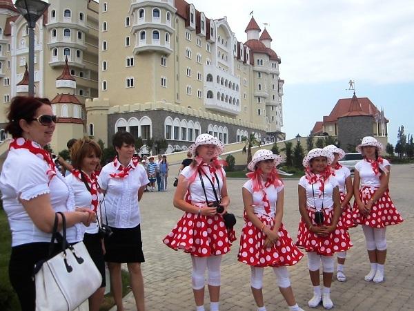 Олимпийский парк в День защиты детей. Дети из Новолеушковского интерната