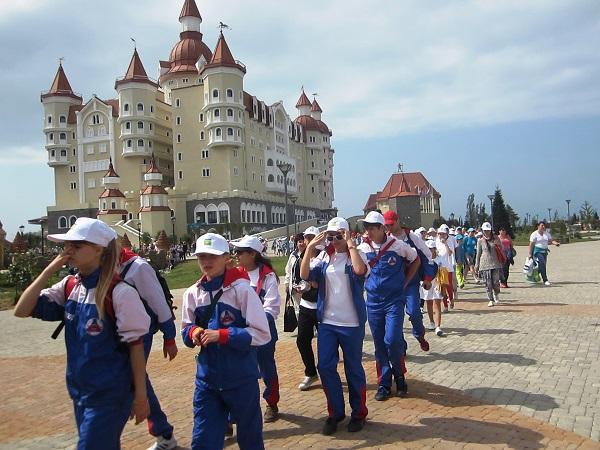 Олимпийский парк в День защиты детей. Дети