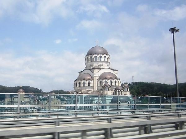 Олимпийский парк в День защиты детей. Храм