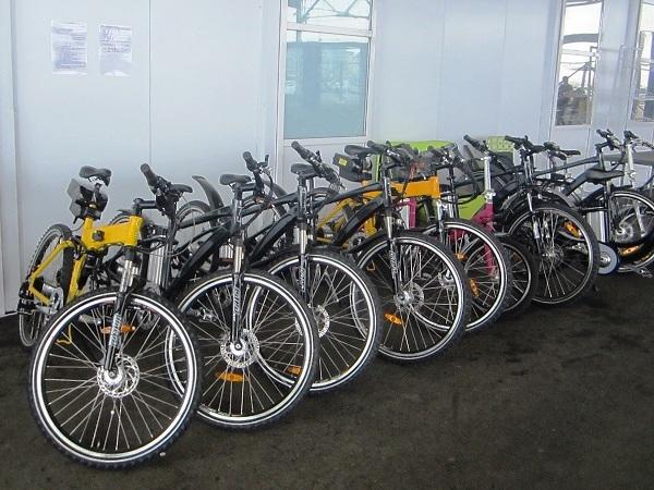 Олимпийский парк в День защиты детей. Прокат велосипедов
