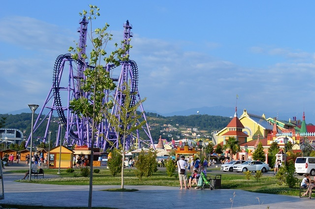 Олимпийский парк. Сочи Парк. Квантовый скачок2