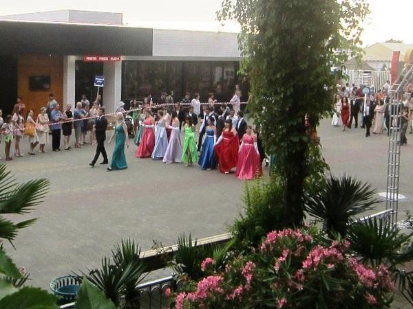 Выпускной бал в Сочи. Фестивальный