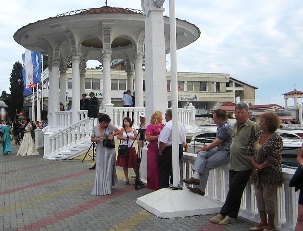 Выпускной бал в Сочи. Ротонда