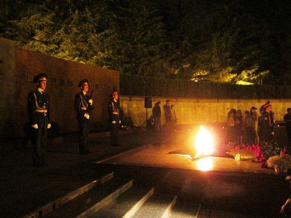 Завокзальный мемориальный комплекс. Вечный огонь