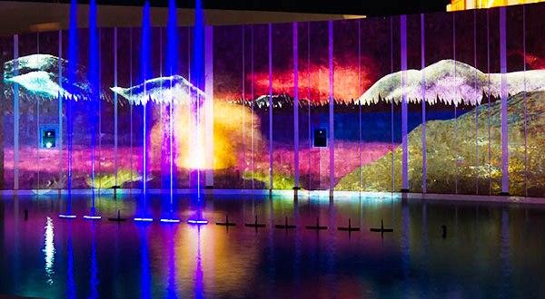 Фестиваль Mandarin Fest.  Лазерное шоу