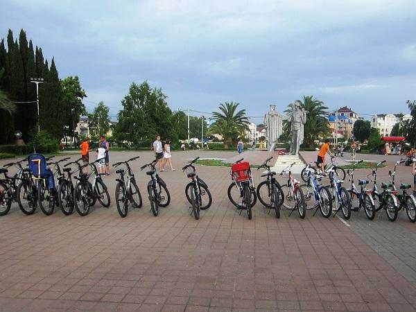 Фестиваль Mandarin Fest.  Прокат велосипедов