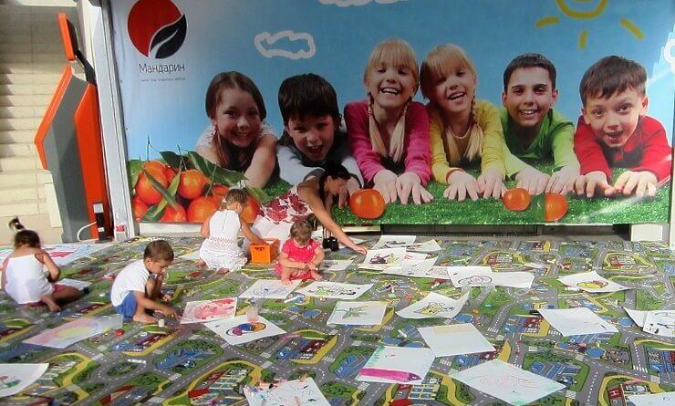 Семейный фестиваль в Мандарине
